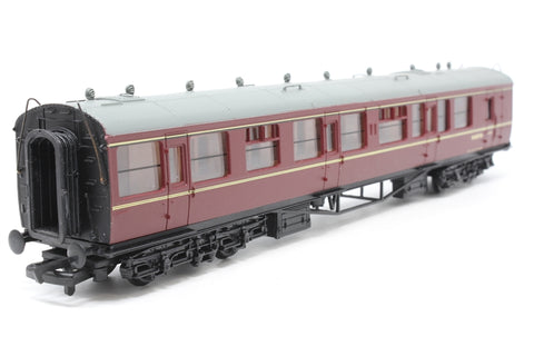 Collett 60' 2nd class brake coach W1657W in BR Maroon - Pre-owned - Like new