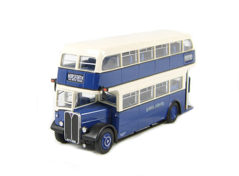 AEC RLH Weymann d/deck bus in blue & white