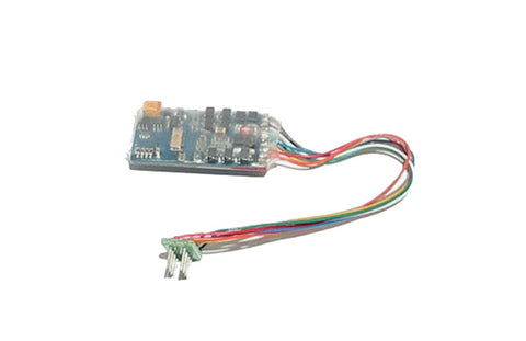 8-pin 3-function 0.75A decoder with back EMF