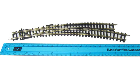 Right Hand Curved Point Radii 438mm Arcs 22.5 & 33.75 (same as Hornby R8075)