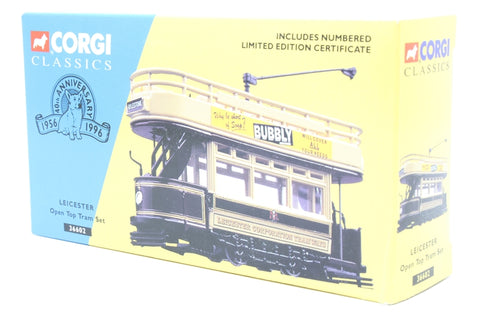 Open Top Tram - 'Leicester' - Pre-owned - some minor marks - imperfect box