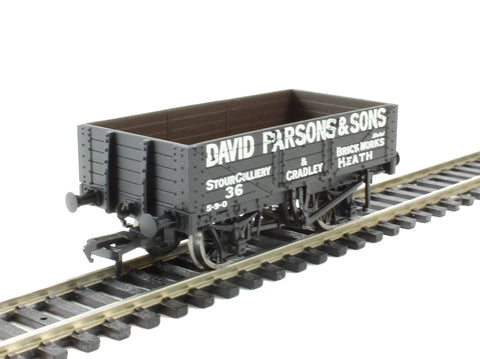 5 plank open wagon 'David Parsons & Son, Cradley Heath'