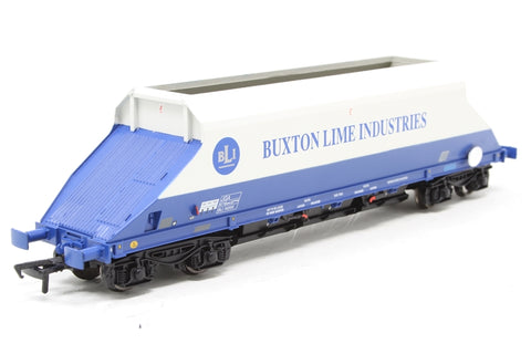 90 Tonne JGA bogie hopper wagon in Buxton Lime Industries livery - Pre-owned - Like new