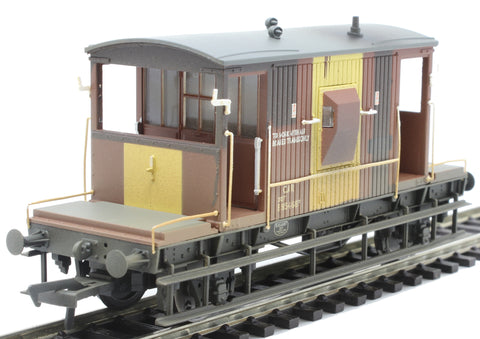 20 ton CAR brake van B954687 in BR bauxite - weathered - Limited Edition for Kernow Model Rail Centre