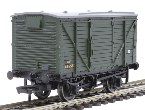 12 ton ventilated van in British Army green
