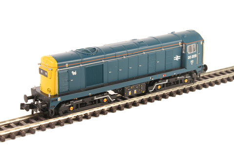 Class 20 20205 in BR blue - as preserved