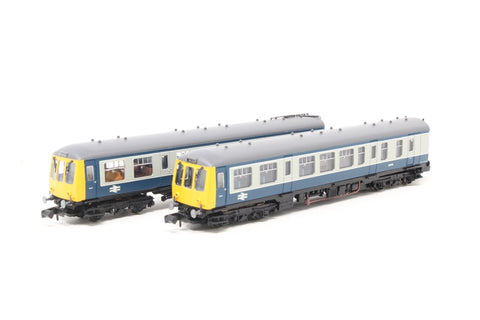 Class 108 2 car DMU in BR blue & grey livery - Pre-owned - Like new