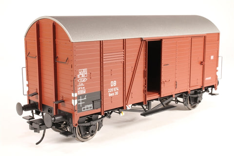 Covered Goods Wagon, Type Gmrs 30 of the DB, Epoch III - Pre-owned - Like new