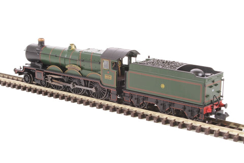 Class 4073 Castle 4-6-0 5044 'Earl of Dunraven' in GWR lined green