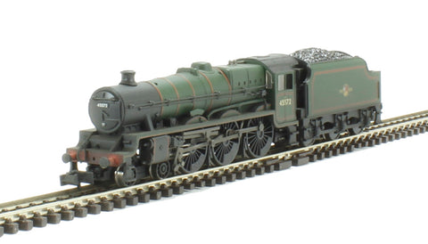 Class 6P Jubilee 4-6-0 45572 'Eire' in BR green with late crest - weathered