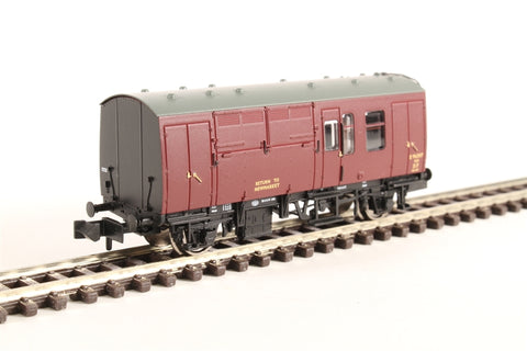 BR Mk1 Horse Box in maroon