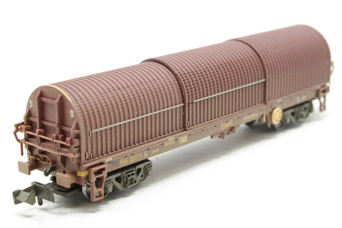 104 tonne BYA steel strip hopper wagon EWS - Pre-owned - weathered