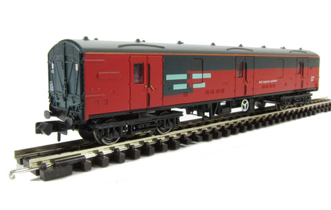 Mk1 GUV in Rail Express Systems (Blue Riband).