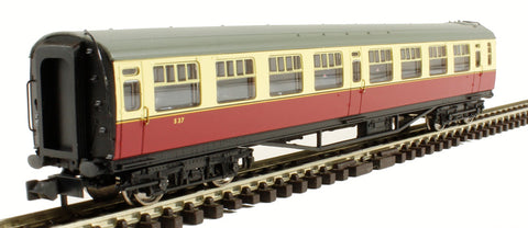 Bulleid 63ft Second Corridor BR crimson & cream