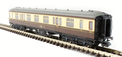 Hawksworth Corridor 1st/3rd Composite GWR Chocolate & Cream
