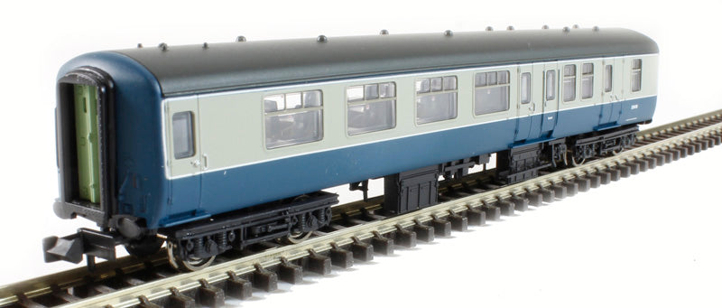 BR Mk2A BSO Brake Second Open in blue & grey