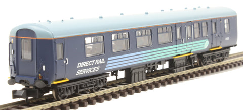 Mk2A BSO brake second open 9428 in Direct Rail Services livery
