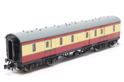 LMS 50ft Full Brake BR Crimson & Cream - Pre-owned - Like new