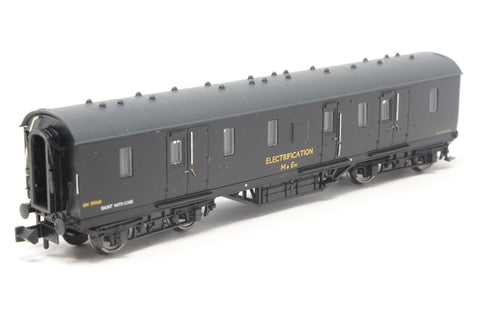 50ft. Ex-LMS PIII BG Van in BR Departmental black 'Electrification' livery - Pre-owned - Like new