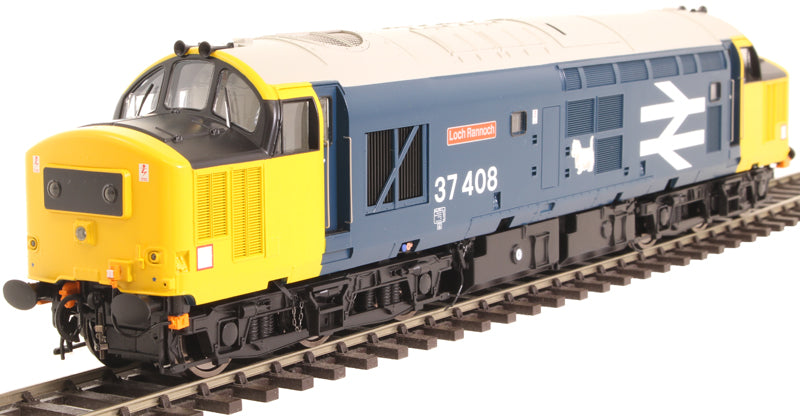 "Class 37/4 37408 ""Loch Rannoch"" in BR large logo blue with black headcode boxes - Exclusive to Hatton's"