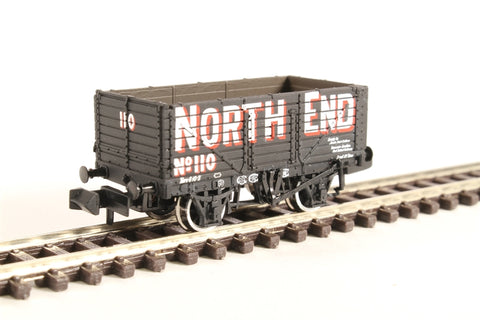 7 Plank Wagon End Door Wagon 'North End'