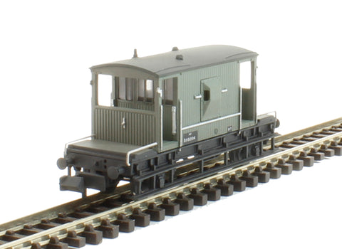20 Ton Brake Van B951504 in BR grey - weathered