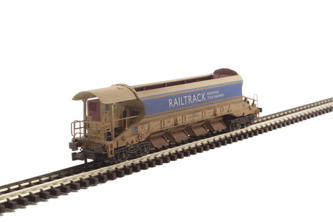 JJA Mark 2 auto ballaster generator unit in Railtrack - weathered