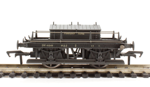 ex-GWR shunters truck DW41049 in BR grey - 'Margam Junction' - weathered