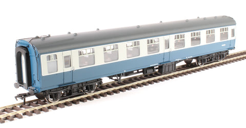 Mk1 SO second open M4243 in BR blue and grey