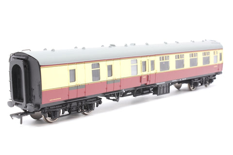 Mk1 BSK brake second corridor E34321 in BR crimson and cream - Pre-owned - replacement box