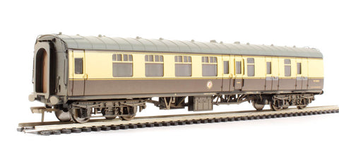 BR Mk1 BSK Brake Second Corridor (WR) Chocolate & Cream - weathered