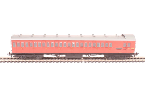 60' ex-SECR Birdcage brake third S3428S in BR crimson