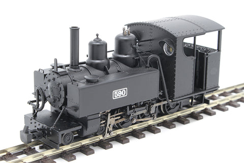 Baldwin Class 10-12-D 4-6-0T 590 in Welsh Highland Railway black