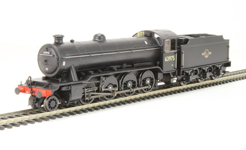Class O2/4 Tango 2-8-0 63975 in BR black with late crest with flush tender