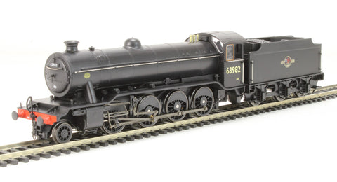 Class O2/4 Tango 2-8-0 63982 in BR black with late crest with flush tender