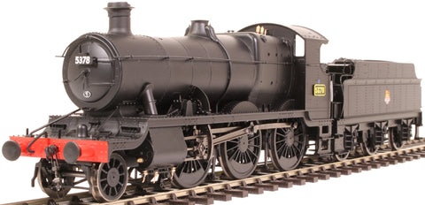 Class 43xx Mogul 2-6-0 5378 in BR black with early emblem