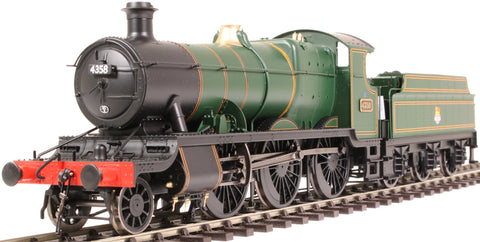 Class 43xx Mogul 2-6-0 4358 in BR lined green with early emblem