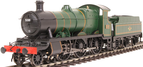 Class 43xx Mogul 2-6-0 5330 in BR lined green with late crest