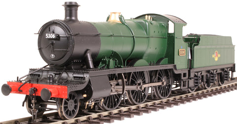 Class 43xx Mogul 2-6-0 5306 in BR unlined green with late crest