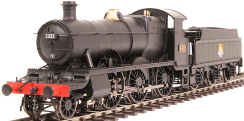 Class 43xx 'Mogul' 2-6-0 5322 in BR black - as preserved