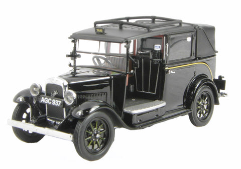 Austin Low Loader Taxi in Black
