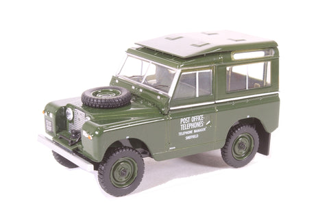 Land Rover Series II SWB Hard Back Post Office Telephones
