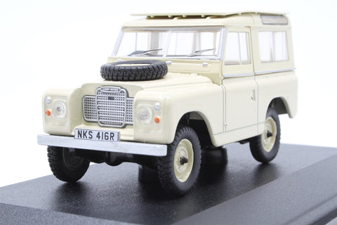 Land Rover Series III SWB St. Wagon Limestone - Open box, imperfect box