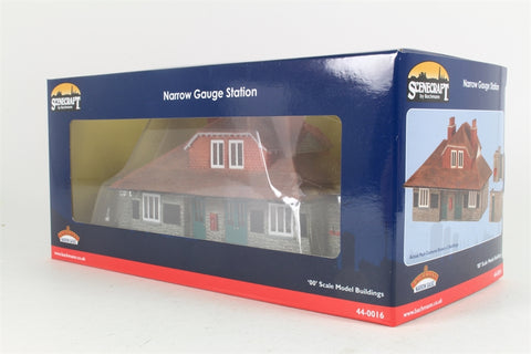 Narrow gauge (Lynton and Barnstaple) station buildings - based on Woody Bay station