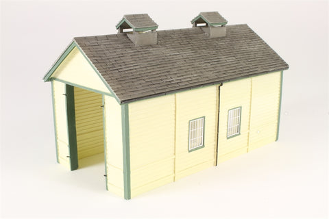 Wooden single-road engine shed