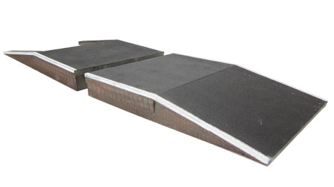 2 platform ramps - Great Central style (122 x 165 x 20mm)