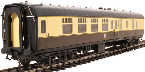 Mk1 BSK brake second corridor in BR chocolate and cream - unnumbered