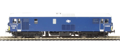Class 73/1 electro-diesel E6039 in BR blue with with small yellow panels