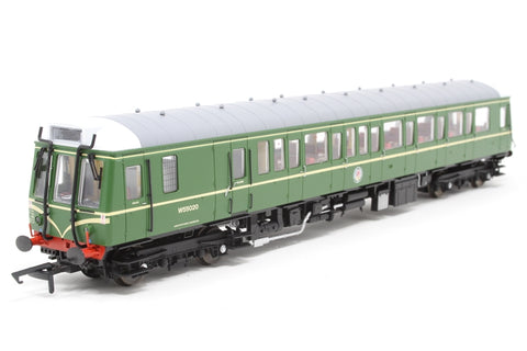 Class 121 single car DMU 'Bubblecar' W55020 in BR green with speed whiskers - DCC Fitted - Pre-owned - Like new