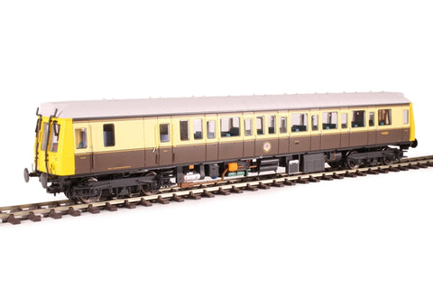 Class 121 single car DMU 'Bubblecar' 120 in 'GWR 150' chocolate and cream - Hatton's limited edition